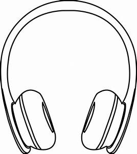 Cool Easy Drawing Of Headphones - ClipArt Best