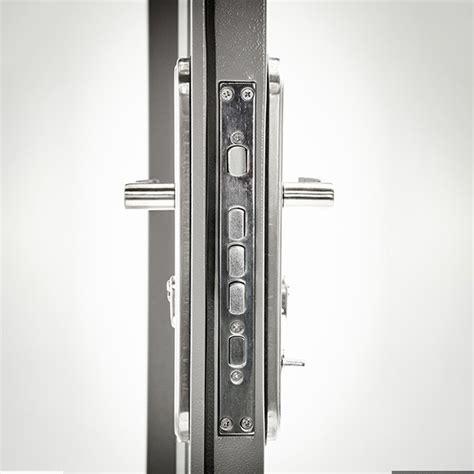 steel security door  multi point locking system single heavy duty steel doors