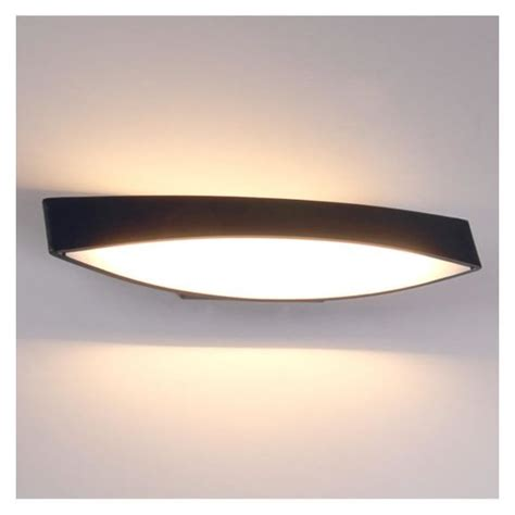 applique moderne led kosilum applique murale moderne led alyson noir