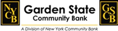 Garden State Community Bank bank credit cards