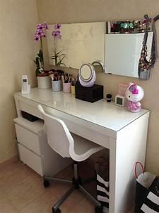 Coiffeuse Moderne Avec Miroir : coiffeuse moderne table de lit ~ Farleysfitness.com Idées de Décoration