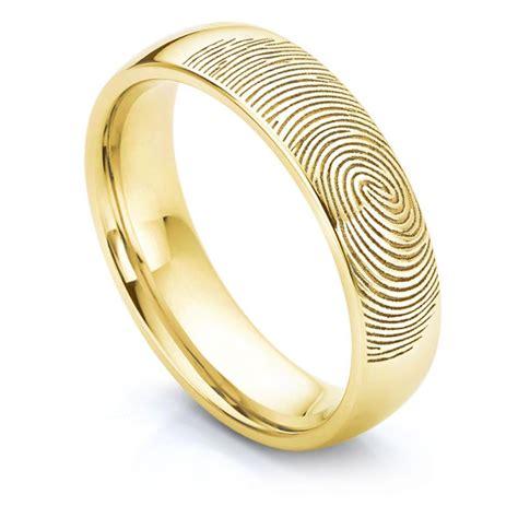 fingerprint wedding ring serendipity diamonds