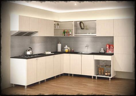 modular kitchen design l shape size of kitchen white types modular india price Indian