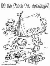 Camping Coloring Pages Camp Fun Summer Printable Sheets Reading Friends Bee Theme Preschool Toddlers Activities Reader Printables Colouring Worksheet Visit sketch template