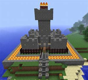 Minecraft Lava Castle by Miss-Archive on DeviantArt