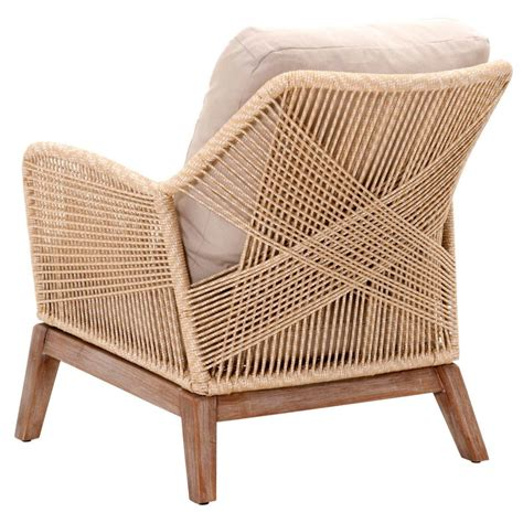 loom sand rope dining chair luca sand woven rope club chair shop occasional chairs 9063