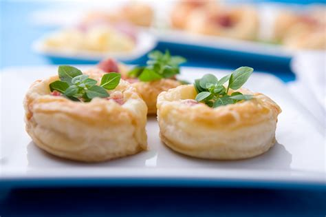 ham cheese puff pastry tartlets bites are real pleasers