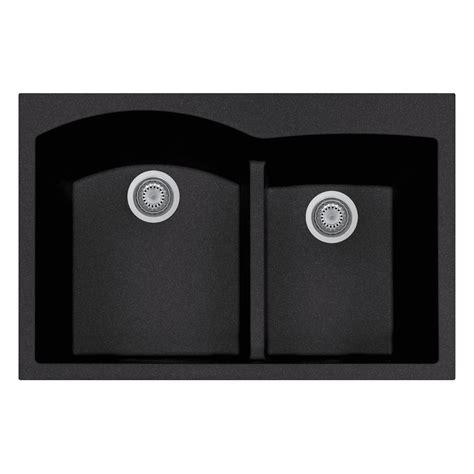 black composite kitchen sink reviews latoscana elegance drop in granite composite 22 in 1 7868