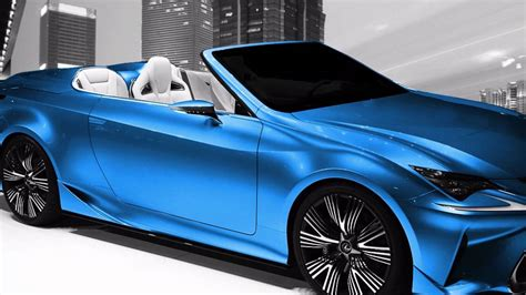 2017 Lexus Is Convertible