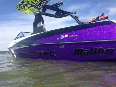 Purple Bass Boat by New Purple Bu Malibu Boats General Discussion Area