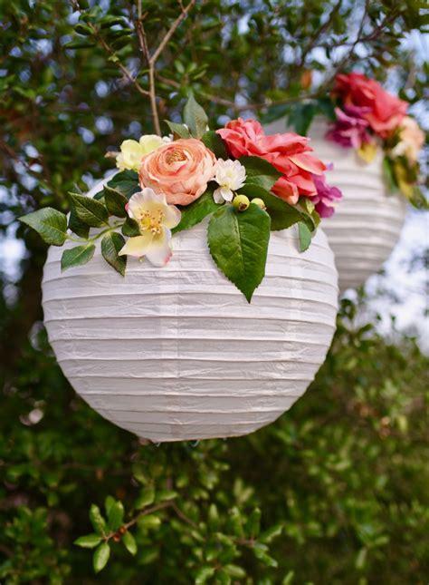 Garden Decoration Flowers by Diy Flower Paper Lanterns Tutorial Make Lovely
