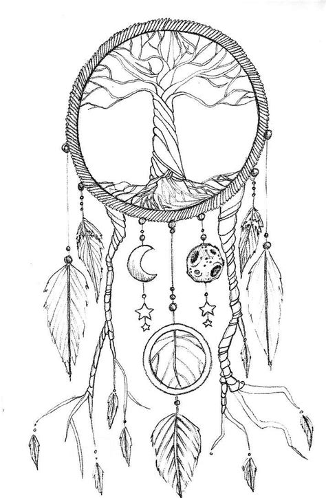 Pin by Amanda Simpson on Color | Dream catcher drawing, Dream catcher, Dream catcher tattoo