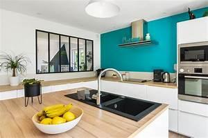 Cuisine Issu D U0026 39 Une Maison Design Et Moderne En Ossature