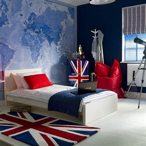 cool teen bedroom ideas that will your mind 35 cool teen bedroom ideas that will blow your mind 35 | Flag themed teen boys bedroom decor