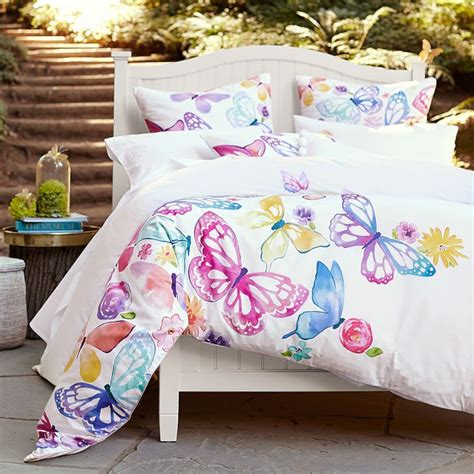 Pottery Barn Butterfly Wall Decor by Nwt Pottery Barn Butterfly Duvet Cover Ebay