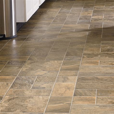 laminate slate tile mannington revolutions tile 16 quot x 51 quot x 8mm mojave slate laminate in tumbleweed wayfair supply