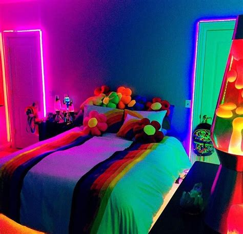 Neon Lights For Rooms by Gloomyartist нσмє In 2019 Room Neon Bedroom