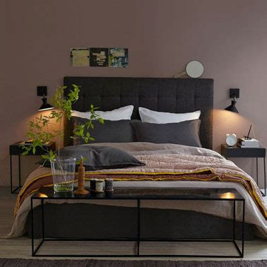 chambre poudré peinture chambre couleur taupe mat poudré de chez am pm