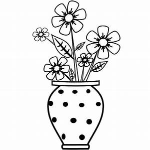 Gallery: Outline Drawings Of Flower Pot, - DRAWING ART GALLERY