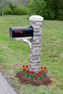 DIY Mailbox Post Ideas