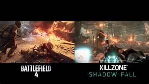 BATTLFIELD 4 VS KILLZONE SHADOW FALL | GRAPHICS WAR - YouTube