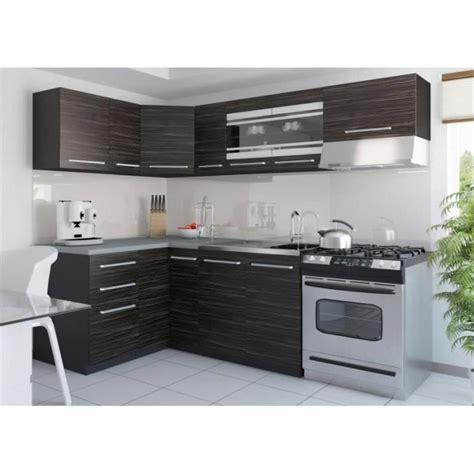 poignee de porte cuisine equipee justhome torino 3 l cuisine équipée complète 130x230 cm