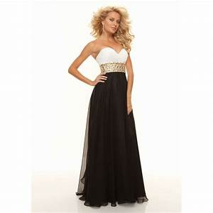 Black And White Formal Dresses | Kzdress