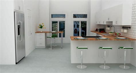 cuisine en l moderne ophrey com cuisine moderne en l avec ilot prélèvement