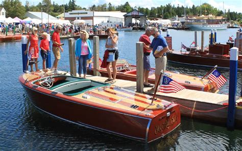 Wooden Boat Show 2017 Michigan by Hessel Wooden Boat Show 2017