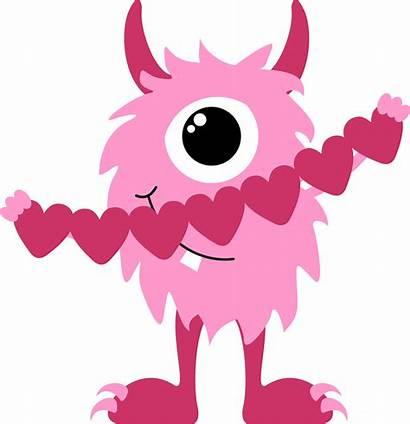 Monster Clip Valentine Clipart Happy Clipartix