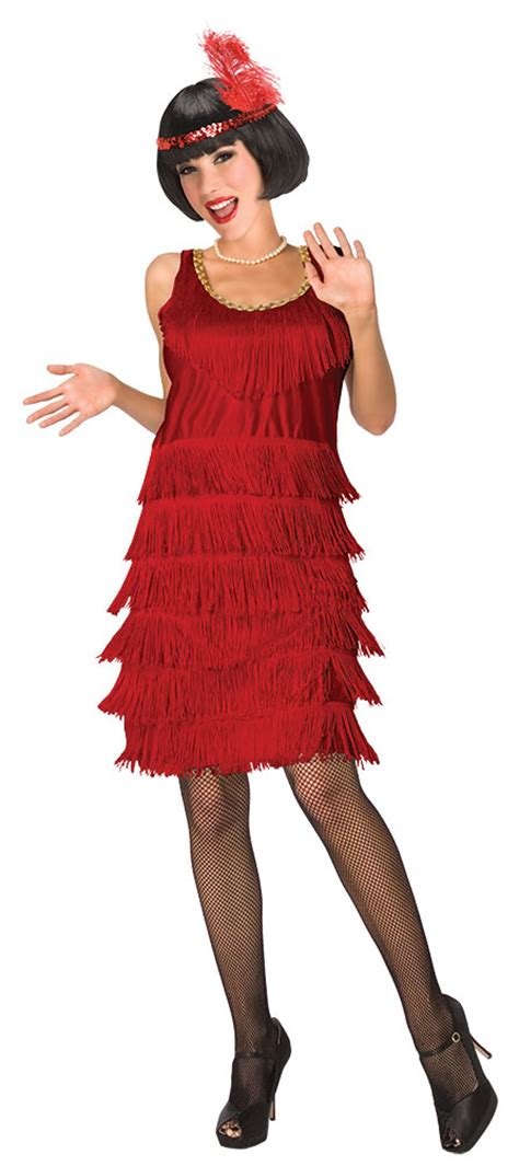 20er jahre kleid damen charleston kleid charleston kost 252 m 20er jahre damen kost 252 m rot mit stirnband kk ebay