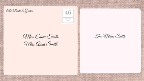 how to address an envelope to a family how to address wedding invitations southern living