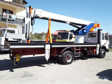 Iveco Fiat by Used Iveco Fiat 145 Telescopic Boom Lifts Year 1989 Price