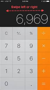 How To Backspace On Your Iphone Calculator App  And Other