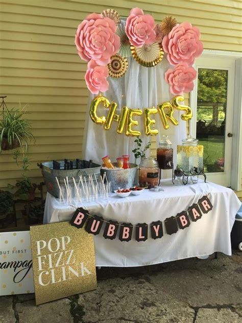 set   cutest mimosa bar   party