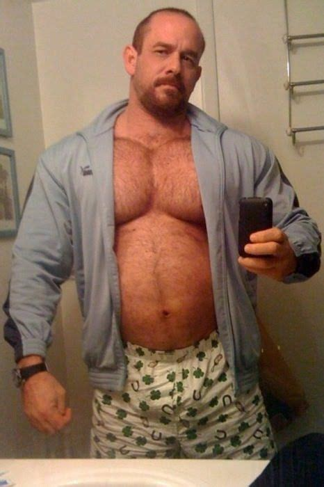 Hairy Irish Daddy Men Beards Boxers Woof Beefy Men