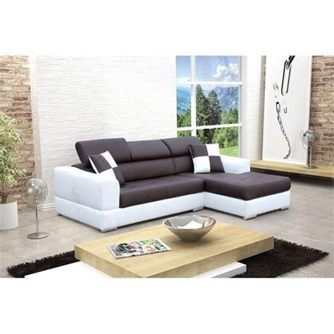 canapé blanc d angle photos canapé d 39 angle design noir et blanc