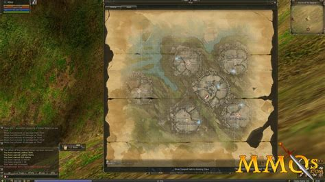 lineage map aden game mmos tree skill screenshots