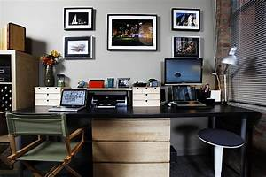 20 home office decorating ideas for a cozy workplace With kitchen colors with white cabinets with presse papier android