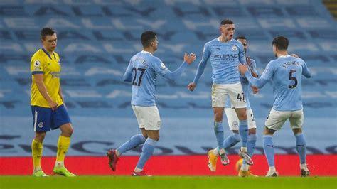 Manchester City vs. Brighton & Hove Albion - Football ...