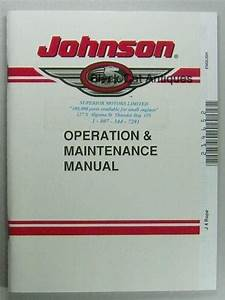1998 Johnson J 40  50 Remote Outboard Owners Manual Guide