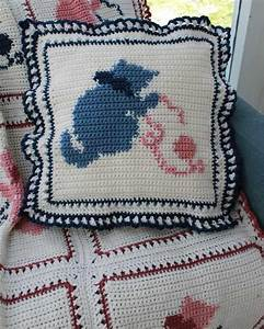 Country Kittens Afghan Crochet Pattern – Maggie's Crochet