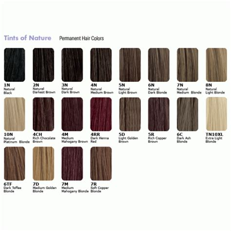 Hair Color Code by Tints Of Nature Choose Hair Dye From Color Codes