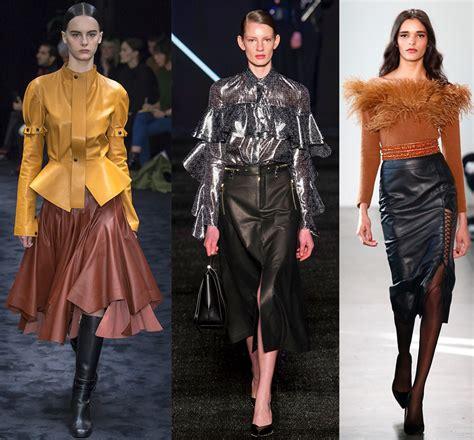 Какие фасоны юбок будут в моде осенью и зимой 20182019 фото Модный журнал