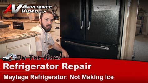 maytag mffheb refrigerator repair  making ice