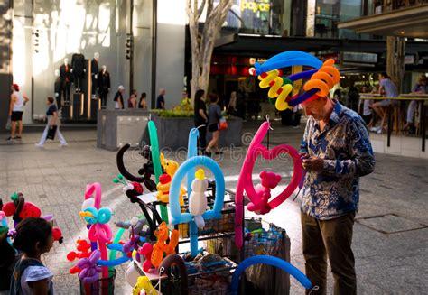 balloon vendor editorial stock image image  toys