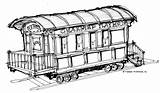 Caboose Drawing Clipartmag sketch template