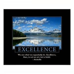 Motivational Quotes On Excellence