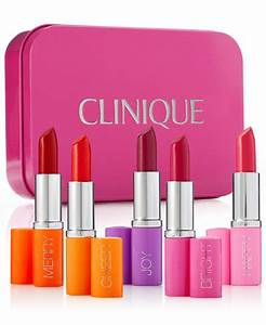 Clinique 5 Pc Pick Your Party Lipstick Set Created for