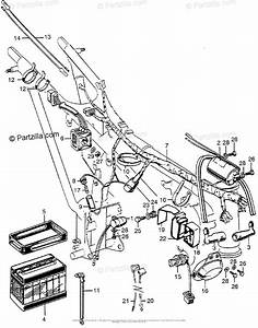 Honda Motorcycle Models With No Year Oem Parts Diagram For Cl175 Wire Harness   Battery